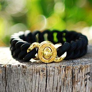 Rustic Cuff Madison Black Bracelet